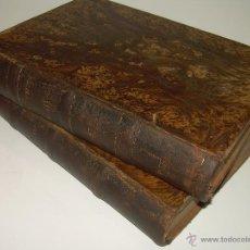 Libros antiguos: DOS TOMOS CON TAPAS DE PIEL....JURISPRUDENCIA CRIMINAL.....AÑO 1.879. Lote 49130700