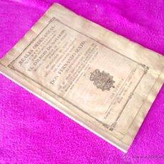 Libros antiguos: REALES ORDENANZAS, COLEGIO DE NOTARIOS BARCELONA, REY FERNANDO SEXTO, 1757,1805. Lote 49215535