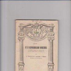 Libros antiguos: DE LA RESPONSABILIDAD MINISTERIAL - FRANCISCO SOLER PÉREZ - ED. REUS 1922 / MADRID. Lote 49672063