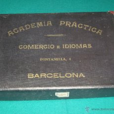 Libros antiguos: CURSO DE CONTABILIDAD - ACADEMIA PRACTICA - BARCELONA 1934. Lote 49782448
