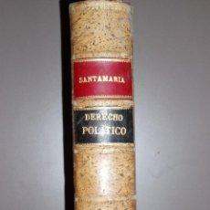 Libros antiguos: CURSO DE DERECHO POLÍTICO 1903. Lote 50123663