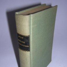 Libros antiguos: 1883 - ANDRÉS BELLO - PRINCIPIOS DE DERECHO INTERNACIONAL II: ESTADO DE GUERRA. Lote 50390310