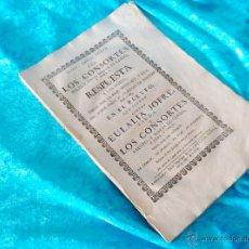 Libros antiguos: DERECHO, PLEYTO, FCO DE MONTERO, EULALIA JOFRE, FELIX, ANNA, MARIA, LLEDO 1758. Lote 50540521
