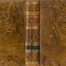 Libros antiguos: RECITACIONES DEL DERECHO CIVIL / DE JUAN HEINECIO ( TOMO I) - 1833 * CABRERIZO *. Lote 50793656