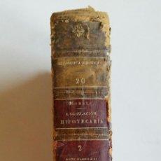 Libros antiguos: COMENTARIOS A LA LEGISLACIÓN HIPOTECARIA. POR J. MORELL Y TERRY. TOMO II. ARTÍCULOS 6º A 41º. 1917. Lote 50968564