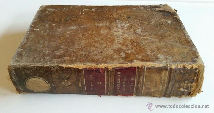 Libros antiguos: COMENTARIOS A LA LEGISLACIÓN HIPOTECARIA. por J. MORELL y TERRY. TOMO II. ARTÍCULOS 6º a 41º. 1917 - Foto 6 - 50968564