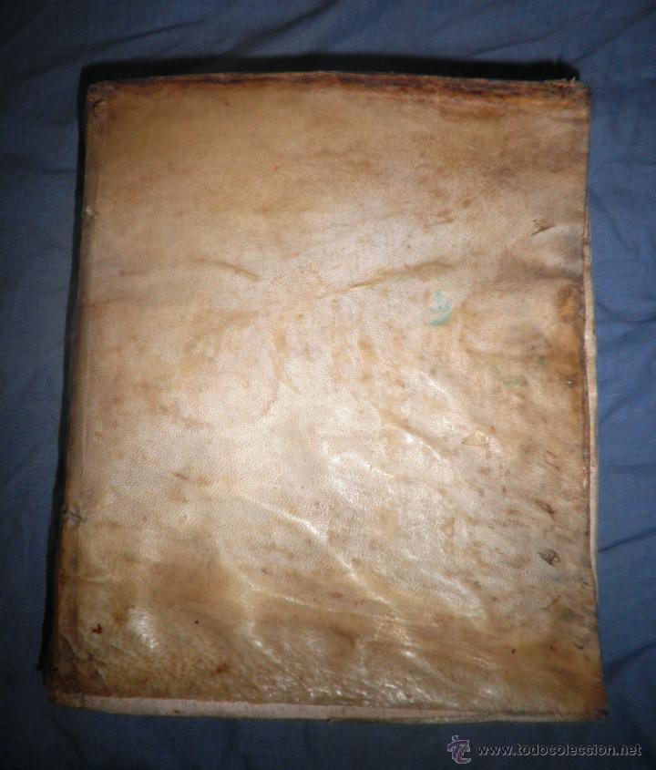 Libros antiguos: CORPUS JURIS CANONICI ACADEMICUM - AÑO 1773 - CH.HENR - PERGAMINO IN-FOLIO. - Foto 3 - 194146110