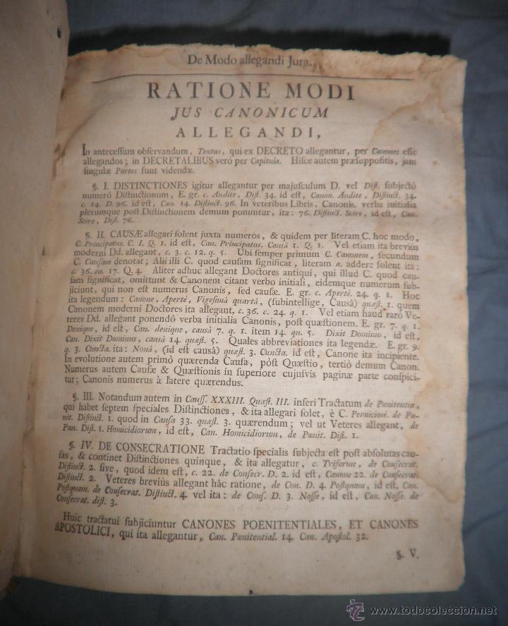 Libros antiguos: CORPUS JURIS CANONICI ACADEMICUM - AÑO 1773 - CH.HENR - PERGAMINO IN-FOLIO. - Foto 5 - 194146110