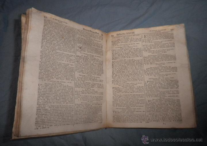 Libros antiguos: CORPUS JURIS CANONICI ACADEMICUM - AÑO 1773 - CH.HENR - PERGAMINO IN-FOLIO. - Foto 6 - 194146110