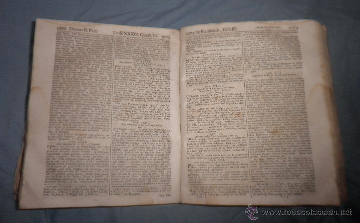 Libros antiguos: CORPUS JURIS CANONICI ACADEMICUM - AÑO 1773 - CH.HENR - PERGAMINO IN-FOLIO. - Foto 7 - 194146110