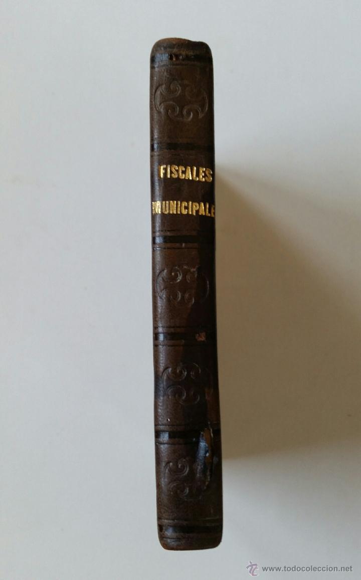MANUAL DE LOS FISCALES MUNICIPALES. MADRID.- 1875 - E. DE LA RIVA (Libros Antiguos, Raros y Curiosos - Ciencias, Manuales y Oficios - Derecho, Economía y Comercio)