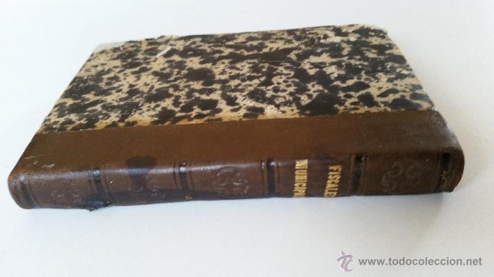 Libros antiguos: MANUAL DE LOS FISCALES MUNICIPALES. MADRID.- 1875 - E. DE LA RIVA - Foto 3 - 51072630