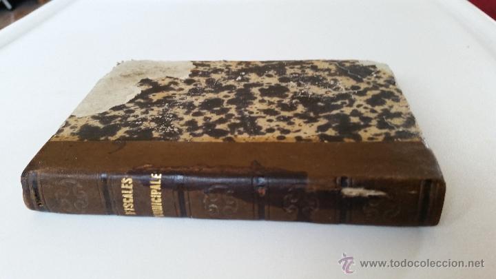 Libros antiguos: MANUAL DE LOS FISCALES MUNICIPALES. MADRID.- 1875 - E. DE LA RIVA - Foto 8 - 51072630