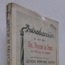 Libros antiguos: INTRODUCCION AL ESTUDIO DEL PRECIO DE COSTE EN HILATURA DE ALGODON - AÑO 1915. Lote 56983615