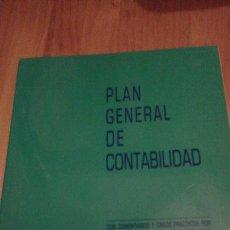 Libros antiguos: PLAN GENERAL DE CONTABILIDAD. Lote 51730264