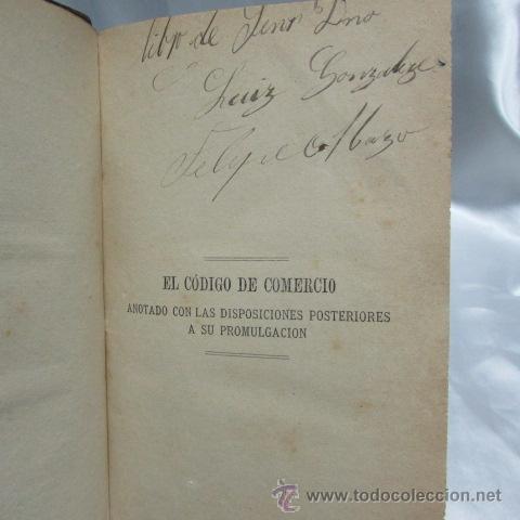 Libros antiguos: El Libro del Comerciante Pablo V. Goyena Montevideo seminario judicial administrativo 1877 - Foto 5 - 52012789