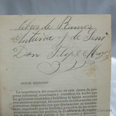 Libros antiguos: El Libro del Comerciante Pablo V. Goyena Montevideo seminario judicial administrativo 1877 - Foto 6 - 52012789