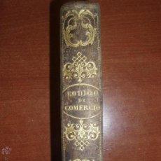 Libros antiguos: CODIGO DE COMERCIO EDICION OFICIAL DE REAL ORDEN. AÑO 1841(MANUSCRITO). Lote 52160859