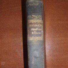 Libros antiguos: ELEMENTOS DE DERECHO ROMANO POR J. HEINECCIO. AÑO 1839 (FIRMADO). Lote 52168733