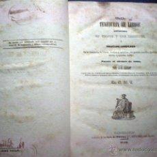 Libros antiguos: LIBRO TENEDURIA DE LIBROS ESPLICADA EN VEINTE Y UNA LECCIONES O TRATADO COMPLETO 1840 JACLOT. Lote 52371466