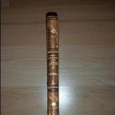 Libros antiguos: LEYES Y RESOLUCIONES EXPEDIDAS POR LOS CONGRESOS ORDINARIOS Y EXTRAORDINARIOS DE 1898. Lote 52719252