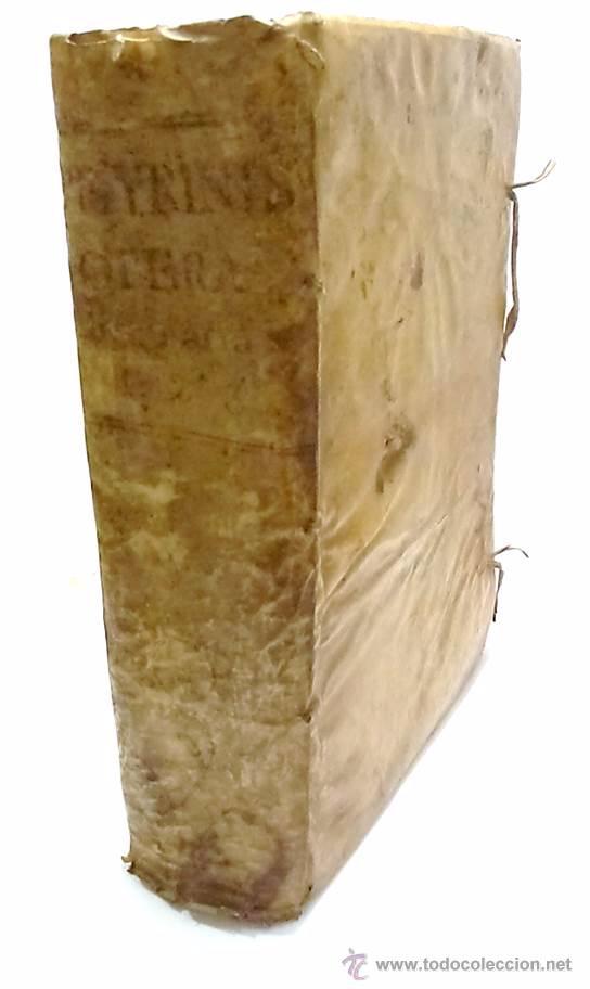 LEYES-R.P.LAURENTII DE PEYRINIS GENUENSIS-OPERA OMNIA ORDINIS MINIMORUM S.FRANCISCI DE PAULA 1.668 (Libros Antiguos, Raros y Curiosos - Ciencias, Manuales y Oficios - Derecho, Economía y Comercio)