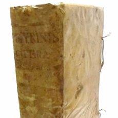 Libros antiguos: LEYES-R.P.LAURENTII DE PEYRINIS GENUENSIS-OPERA OMNIA ORDINIS MINIMORUM S.FRANCISCI DE PAULA 1.668. Lote 53286408