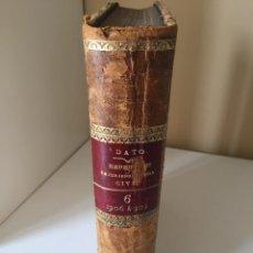 Libros antiguos: REPERTORIO DOCTRINAL LEGAL POR ORDEN ALFABETICO JURISPRUDENCIA CIVIL ESPAÑOLA - DATO 1912 TOMO 6. Lote 53325173