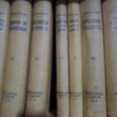 Libros antiguos: EL CONTABLE MODERNO, 7 TOMOS, COMPLETA, ED. LABOR, 1932. Lote 53487747