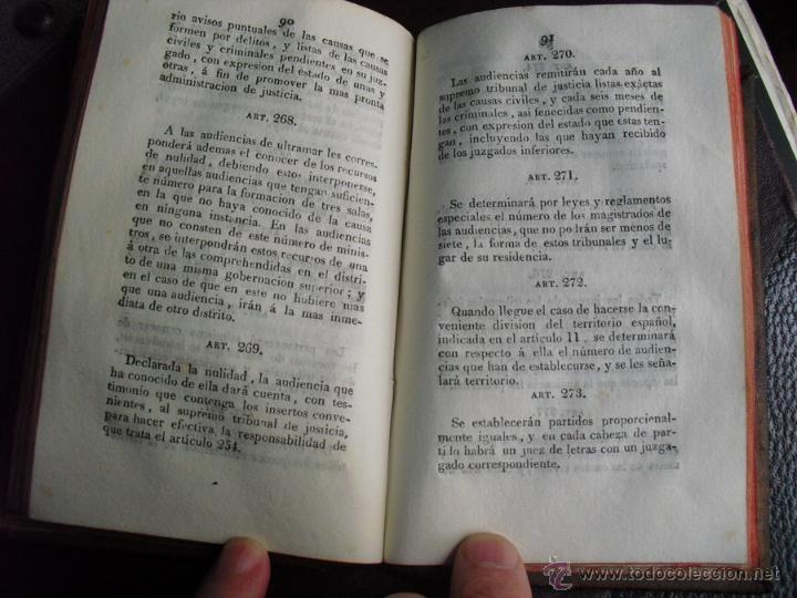 Libros antiguos: 1812 1ª TIRADA 1ª EDICIÓN DE LA 1ª CONSTITUCIÓN POLITICA DE LA MONARQUIA ESPAÑOLA PALAU 59673 - Foto 7 - 53763265