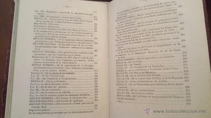 Libros antiguos: LEYES ELECTORAL MUNICIPAL Y PROVINCIAL DE 20 AGOSTO 1870 - ANDRÉS BLAS - MADRID 1876 - Foto 5 - 54592021