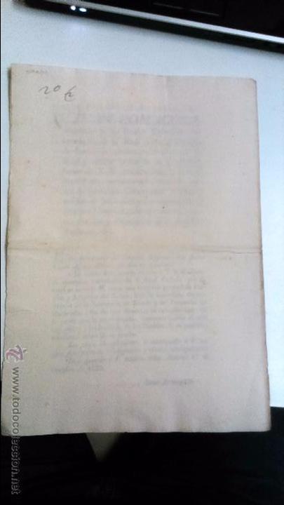 Libros antiguos: Real Cedula de S.M. y señores del consejo. 1825 Fernando VII Madrid.( reimpresa en Mataró) - Foto 2 - 54604339