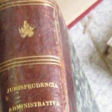 Libros antiguos: COLECCION DE LAS DECISIONES DEL CONSEJO DE ESTADO TOMO 1D. FRANCISCO OAREJA DE ALARCON AÑO 1866 . Lote 55120329
