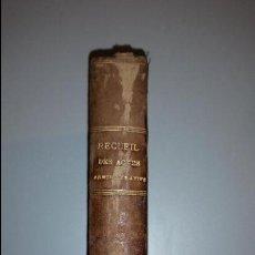 Libros antiguos: RECUEIL DES ACTES ADMINISTRATIFS DU DÉPARTEMENT DU GARD - ANNEE 1897 - N° 1 À 55. Lote 55128359