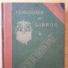 Libros antiguos: JAIME MILLET OLIVER. TENEDURIA DE LIBROS O CLAVE DE LA PARTIDA DOBLE. 1907.. Lote 55152910