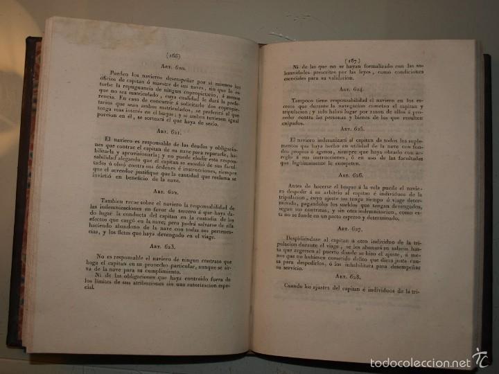 Libros antiguos: Código de Comercio. Madrid 1829. Edición Oficial. - Foto 3 - 55342427