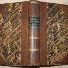 Libros antiguos: CONSULTAS DEL REAL Y SUPREMO CONSEJO DE CASTILLA. . Lote 55346438