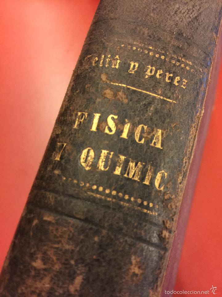 Libros antiguos: Curso elemental de fisica elemental y aplicada y nociones de quimica inorganica. 1886. - 656 pags - Foto 5 - 55367727