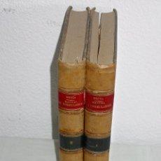 Libros antiguos: MANUAL DE FORMULARIOS. 2 TOMOS-GUILLERMO Mª DE BROCA-LIBRERÍA BOSCH BARCELONA 1926 11ª EDICION. PIEL. Lote 55572470