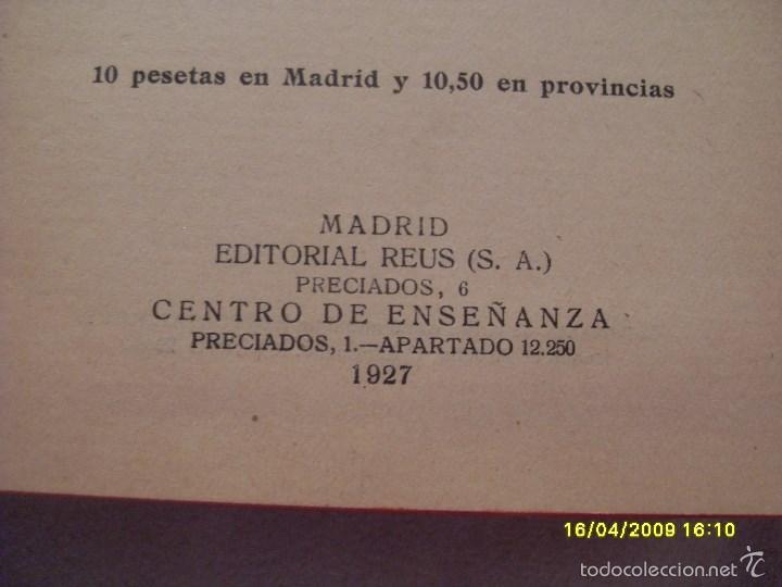 Libros antiguos: CODIGO DEL TRABAJO AÑO 1927. TOMO I. VER FOTOS ADICIONALES - Foto 2 - 56242373