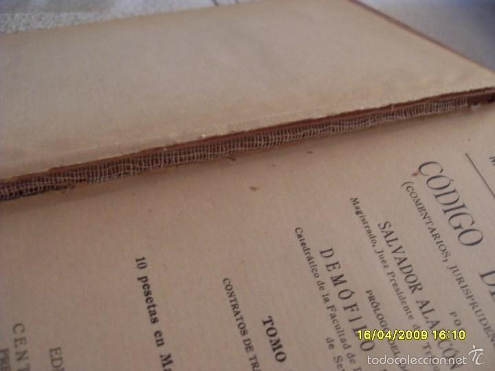 Libros antiguos: CODIGO DEL TRABAJO AÑO 1927. TOMO I. VER FOTOS ADICIONALES - Foto 3 - 56242373
