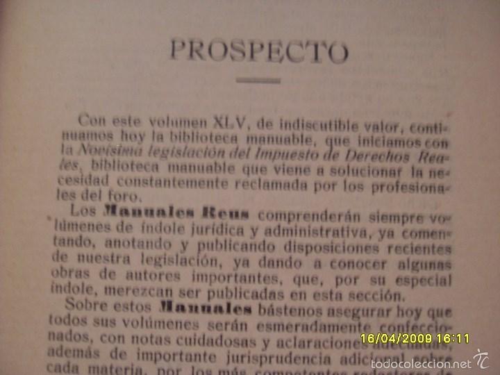 Libros antiguos: CODIGO DEL TRABAJO AÑO 1927. TOMO I. VER FOTOS ADICIONALES - Foto 4 - 56242373