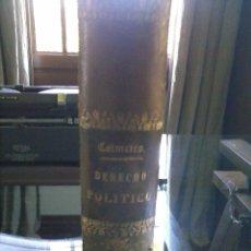 Libros antiguos: CURSO DE DERECHO POLÍTICO. Lote 56548686