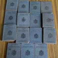Libros antiguos: LOTE DE 15 LIBROS - COLECCIÓN BIBLIOTECA DE DERECHO VIGENTE - DIRECTOR RAFAEL CALLEJA GUTIÉRREZ 1911. Lote 56728621