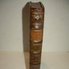 Libros antiguos: LIBRO TAPAS DE PIEL....INSTITUTIONUM CANONICARUM.....LEYES - DERECHO.....AÑO...1.789. Lote 57159455