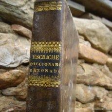 Libros antiguos: ESCRICHE: DICCIONARIO RAZONADO DE LEGISLACIÓN CIVIL, PENAL, COMERCIAL Y FORENSE. 1838 VALENCIA. Lote 57225685