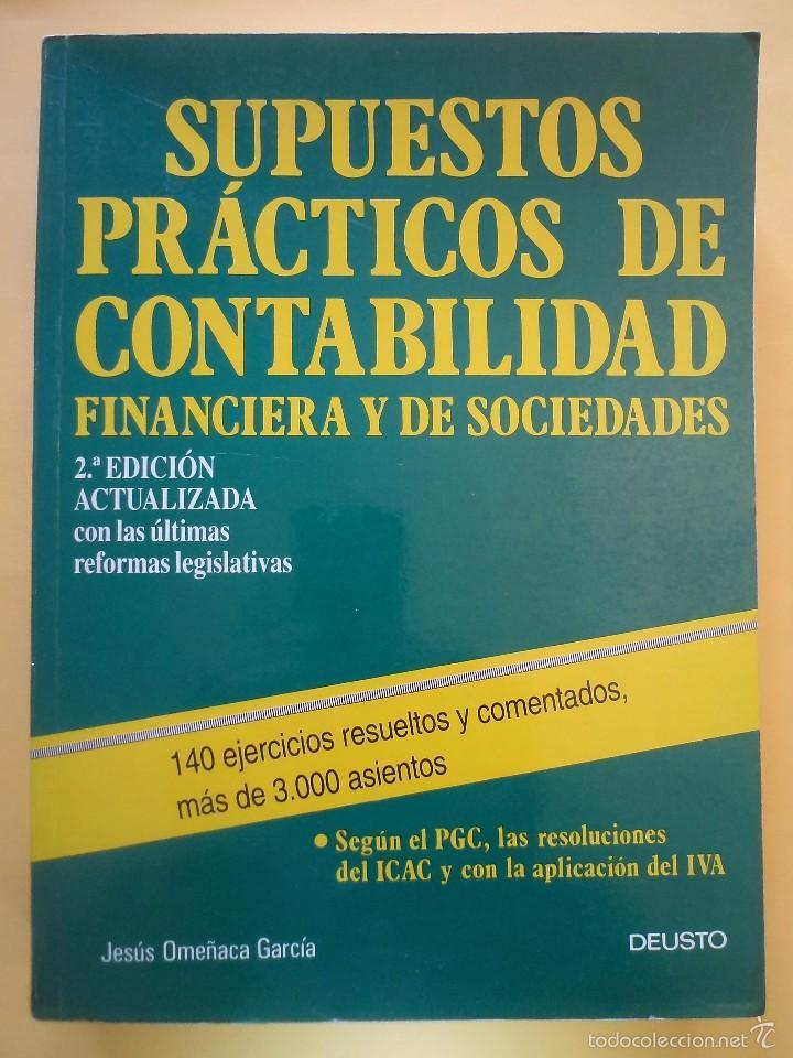 Supuestos Prácticos De Contabilidad Financiera Buy Old Books Of Law Economics And Commerce At Todocoleccion 57259220