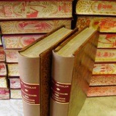 Libros antiguos: ESPLICACION HISTÒRICA DE LAS INSTITUCIONES DEL EMPERADOR JUSTINIANO , CON EL TEXTO Y SU TRADUCCIÓN... Lote 57267740
