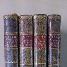 Libros antiguos: LA RIQUEZA DE LAS NACIONES, ADAM SMITH, 1805. Lote 57526447