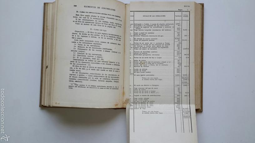 Libros antiguos: Leon Batardon. Elementos de Contabilidad. Ed. Labor. 1934 - Foto 3 - 57603139